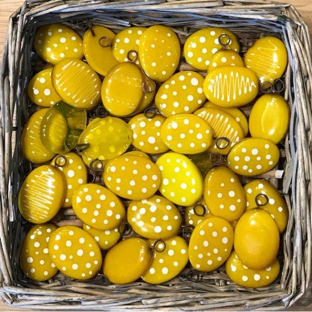 Påske æg, gule farver