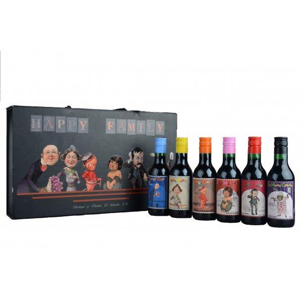 Rødvin Lykkelig Familie