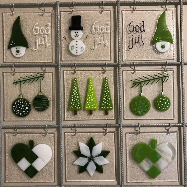 SAML SELV rio net sæt jul i grønne farver