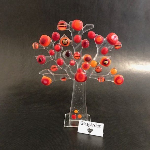 Livets Træ, rød