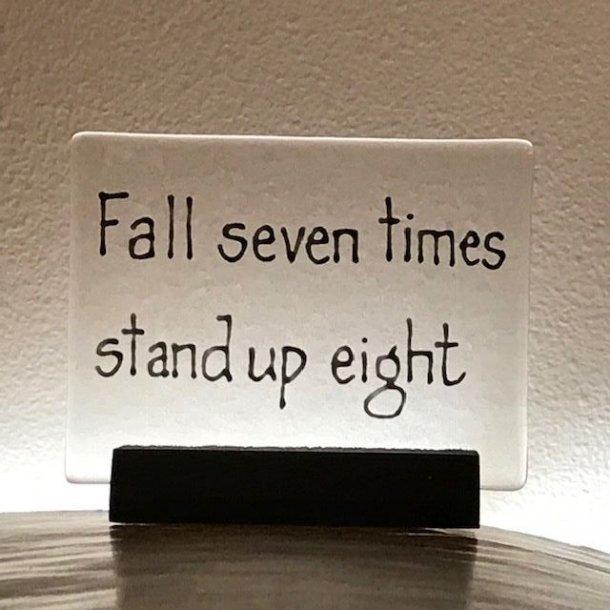 Citat, fall seven times..