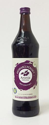 Aronia Saft 0,7 liter