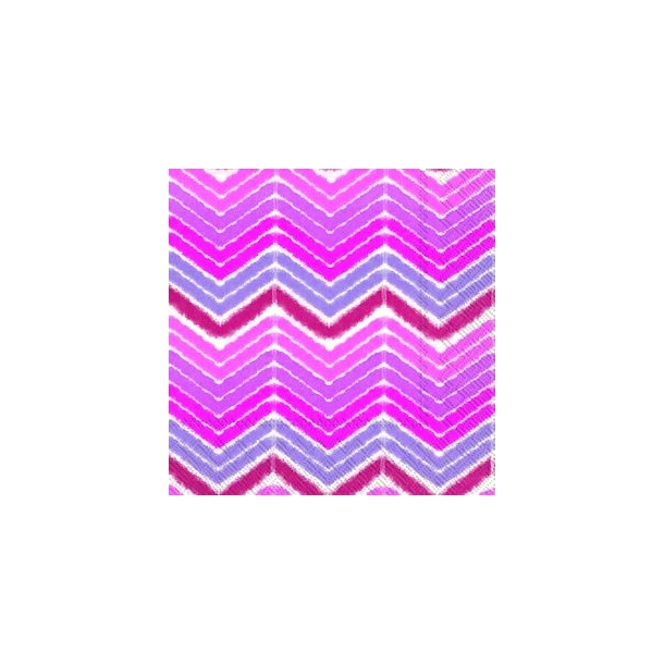 Ikat Stripe pink lunch
