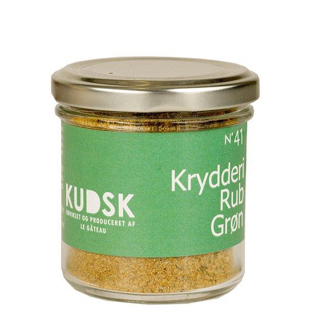 KUDSK Krydderi Rubs grøn