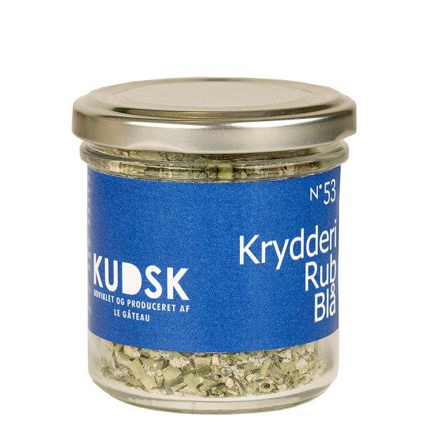KUDSK Krydderi Rubs blå