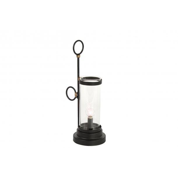 Udestående Bordlampe med batteri - Lanterner - MAGGIES.DK RO02