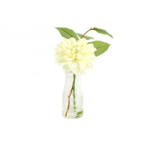 Vase med hvideblomster