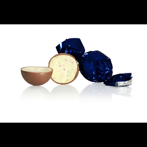 Chokoladekugler Mørkeblå folie flødechokolade