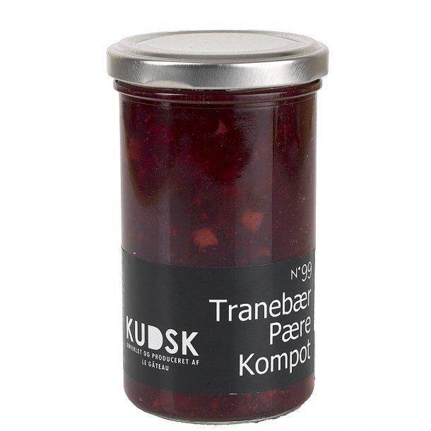 Tranebær pære kompot marmelade