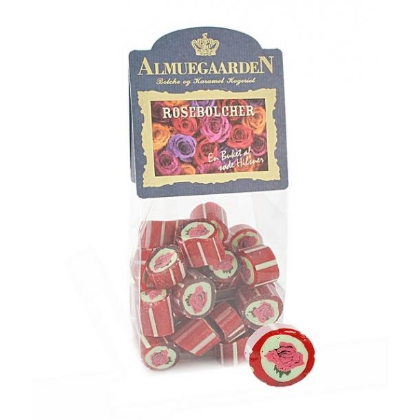 Almuegaarden røde rose bolcher