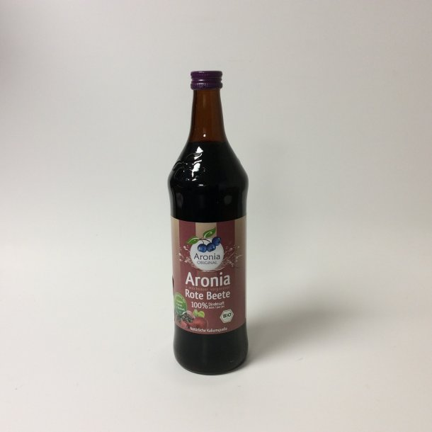 Aronia saft med rødbede 0,7 l