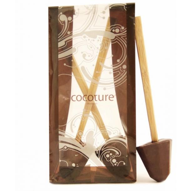 Chokoladepinde til varm kakao mørk chokolade