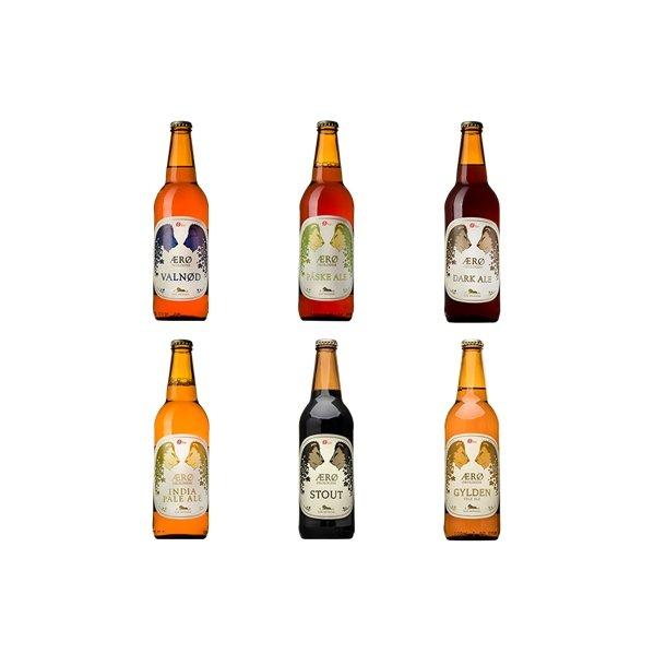Ærø økologisk 6 forskelige øl