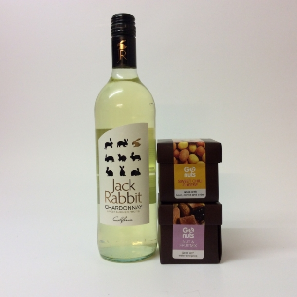 Værtindegaven med hvid vin
