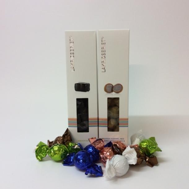 Værtindegaven med lakrids og chokolade