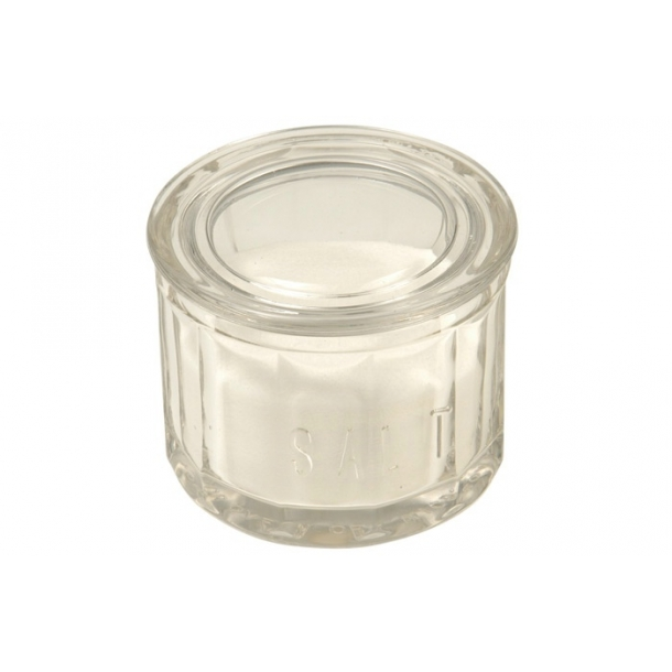 Salt bøtte glas