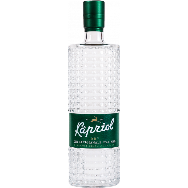 KAPRIOL DRY GIN - Italiensk håndlavet gin