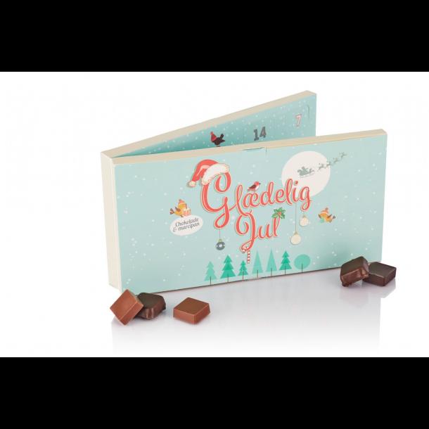 Chokolade & Marcipan i retro julekalender