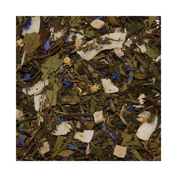 Grøn/Hvid Lunefulde Måne te