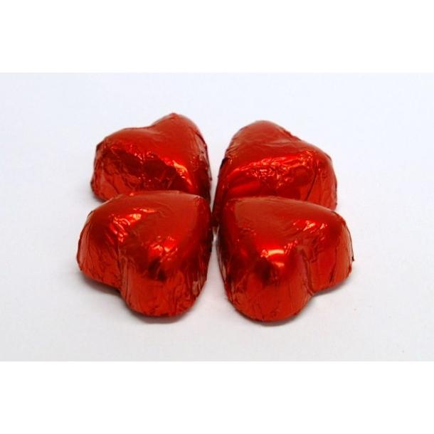 Praliné chokolade hjerter rød
