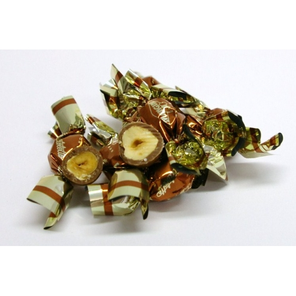 Nicciolette - Ristet hasselnød i lys chokolade