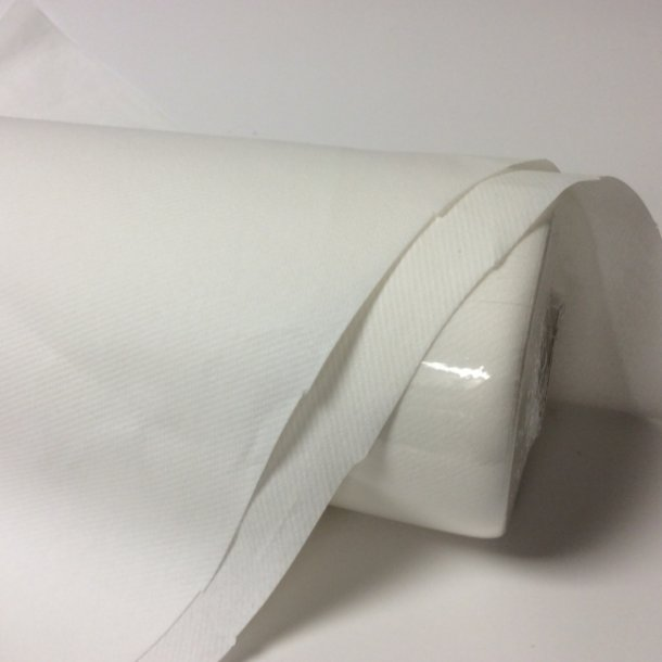 Mank borddug 1,2x25m hvid
