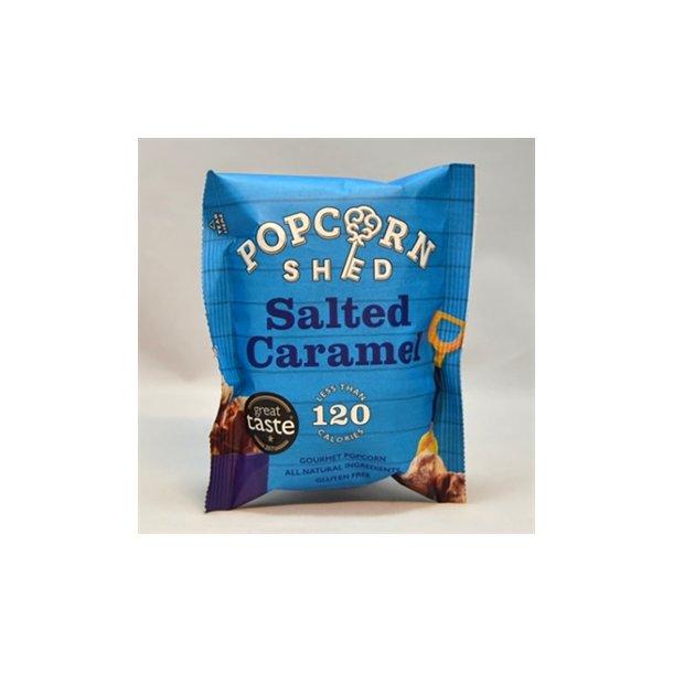 Gourmet popcorn - salted caramel og mælkechokolade