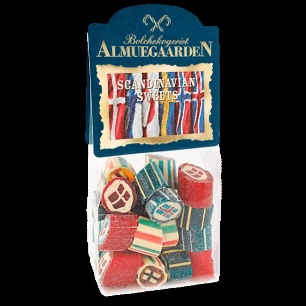 Almuegaarden Scandinavian Sweets blandede bolcher