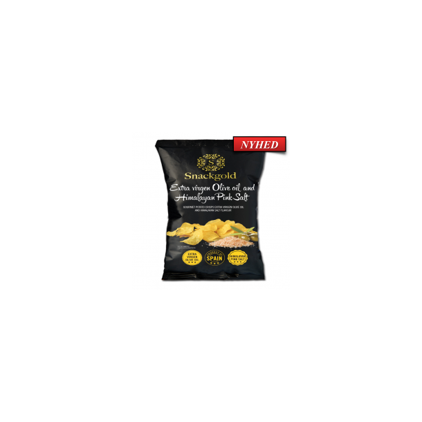 Spanske Goumet chips med Himalaya salt 40g