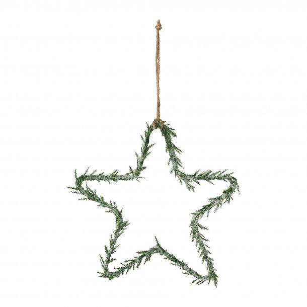 Stjerne ophæng frost 25cm