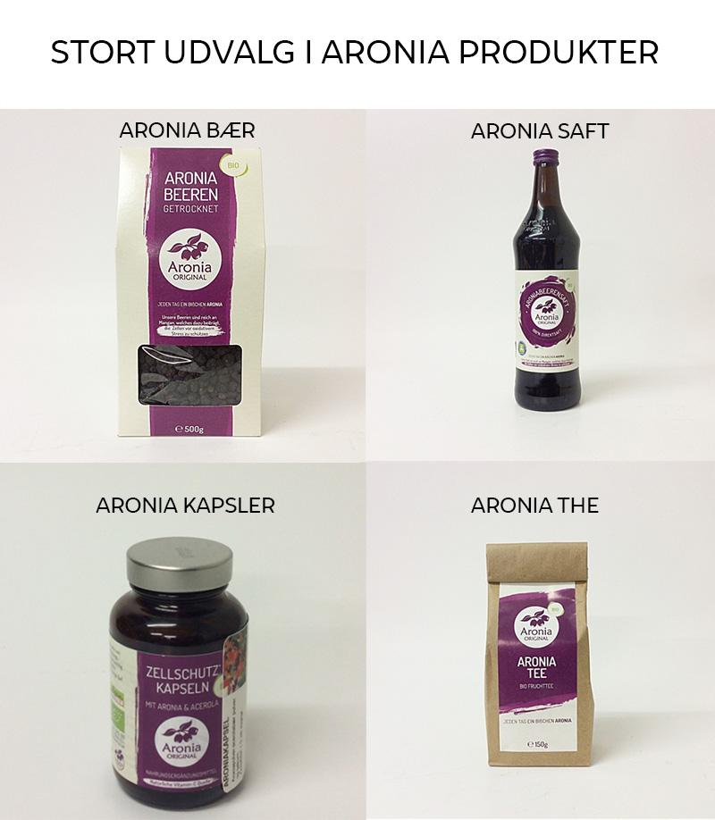 Aronia produkter