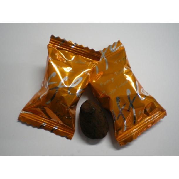 Chokolade trøffel med appelsin