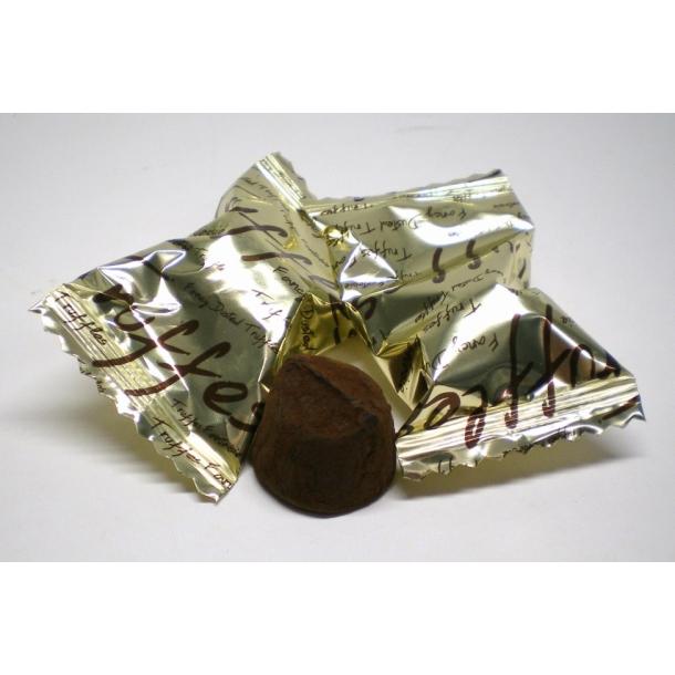 Chokolade trøffel med kakao