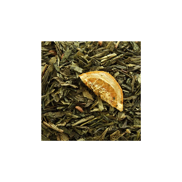 Grøn Sencha orange kanel te