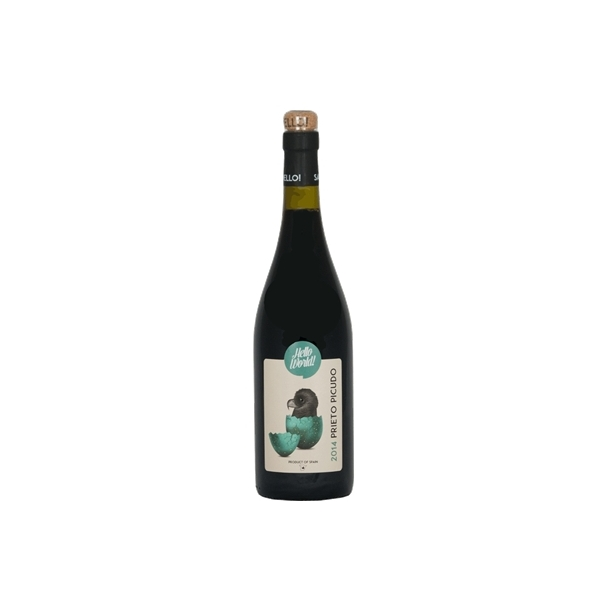 HELLO WORLD Prieto Picudo rødvin