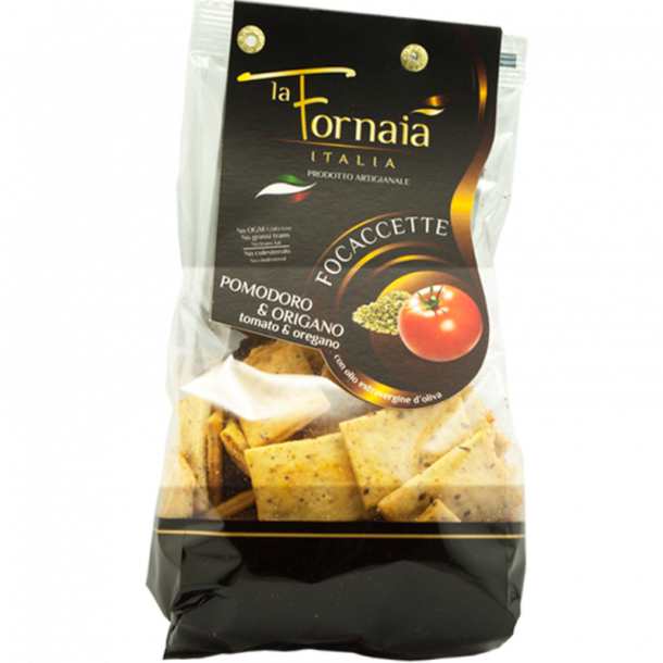 La Fornaia - Focaccette med tomat og oregano