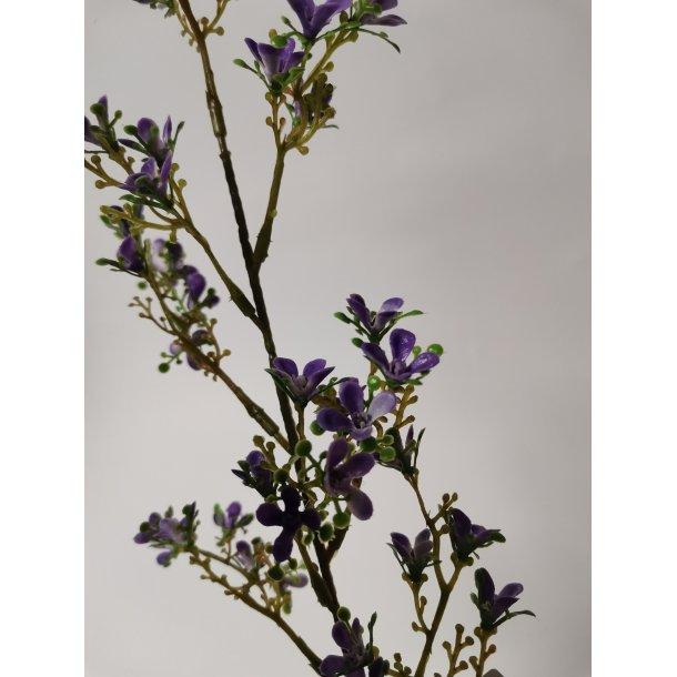 Voks blomst lilla 45cm