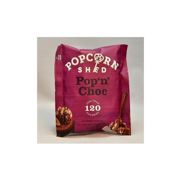 Gourmet popcorn - pop n choc.
