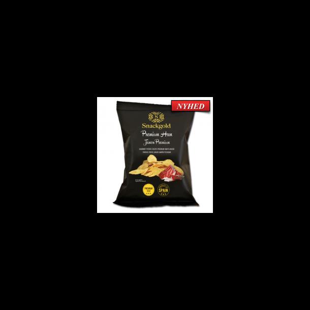 Spanske Gourmet chips med Skinke