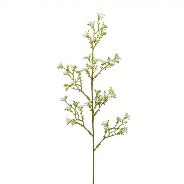 Voks blomst hvid 45cm